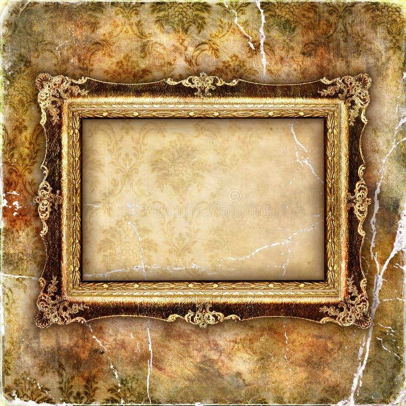 Blocco per grafici antico fotografia stock libera da diritti
