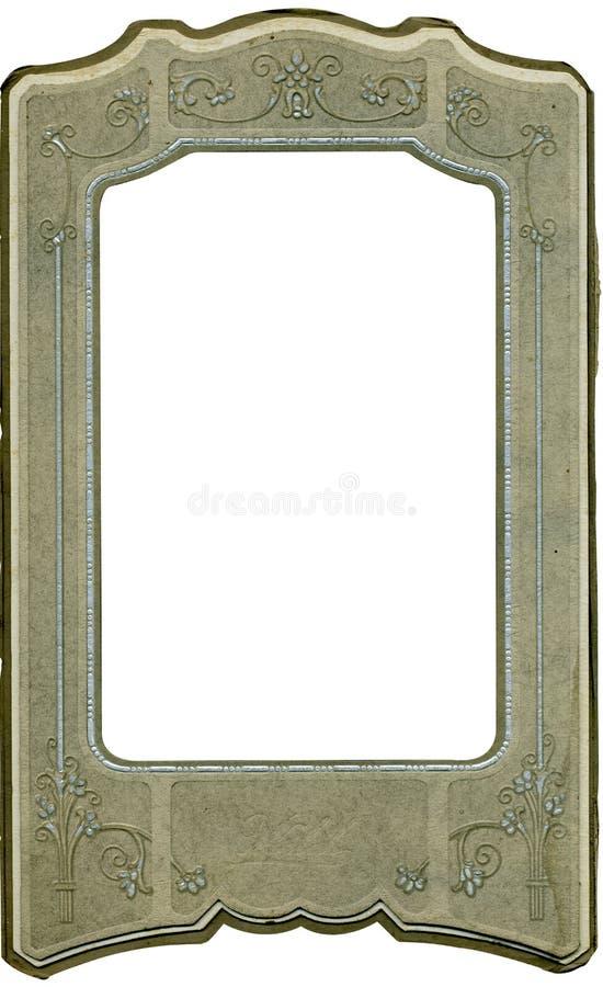 Blocco per grafici antico da 1900's iniziale fotografia stock