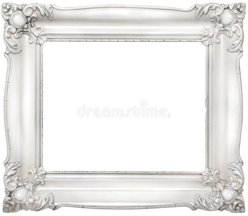 Blocco per grafici barrocco bianco fotografie stock