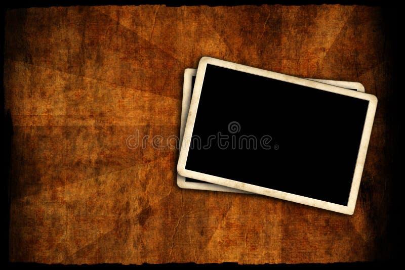 Blocco per grafici in bianco della foto sulla parete fotografia stock libera da diritti