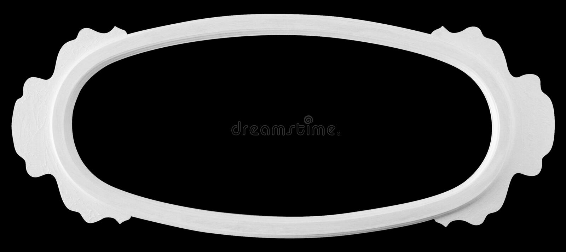 Blocco per grafici bianco della retro annata isolato fotografia stock