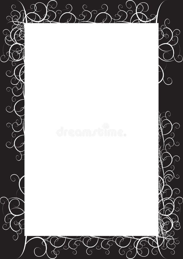 Blocco per grafici classico nero royalty illustrazione gratis