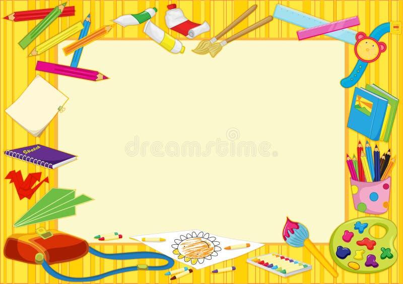 Blocco per grafici Colourful illustrazione vettoriale