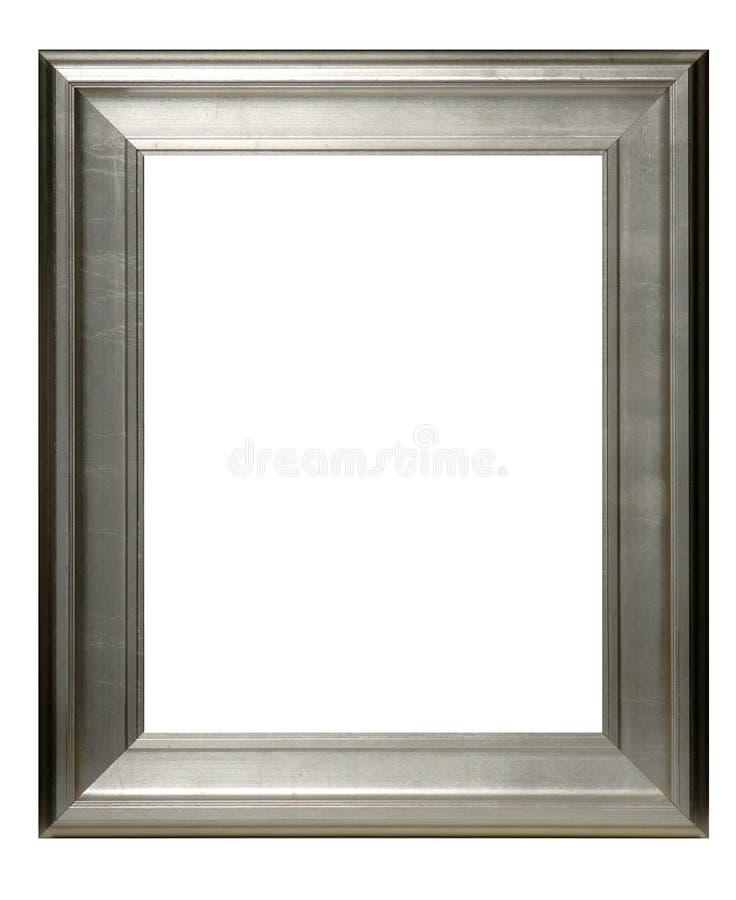 Blocco per grafici d'argento immagini stock