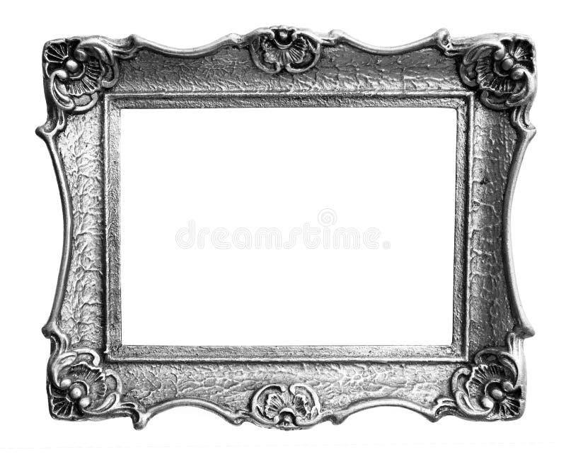 Blocco per grafici d'argento fotografia stock