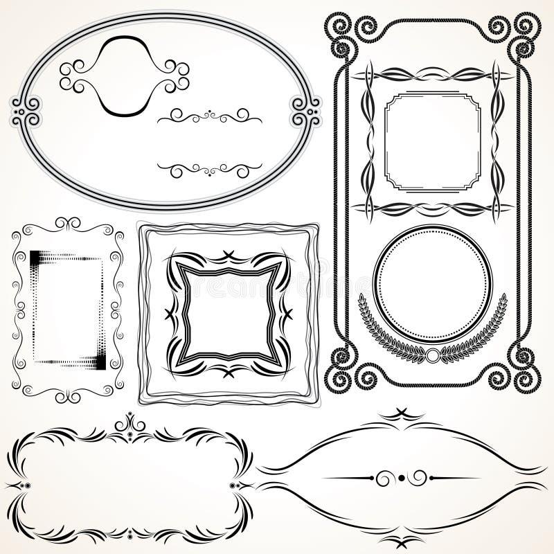Blocco per grafici decorativo di vettore illustrazione di stock