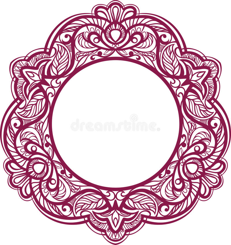 Blocco per grafici decorativo. Elemento del ornamental dell'annata. royalty illustrazione gratis