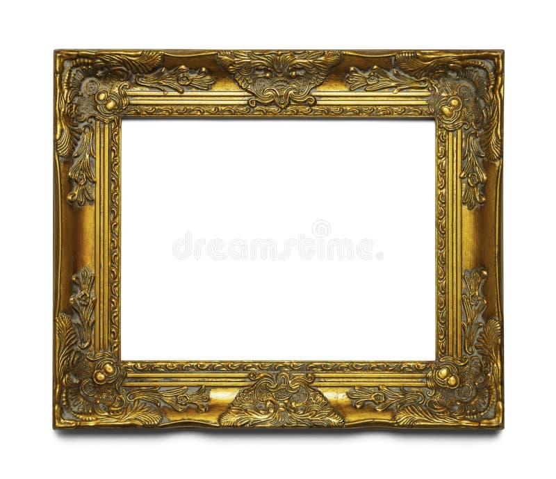 Blocco per grafici decorato dell'oro immagini stock