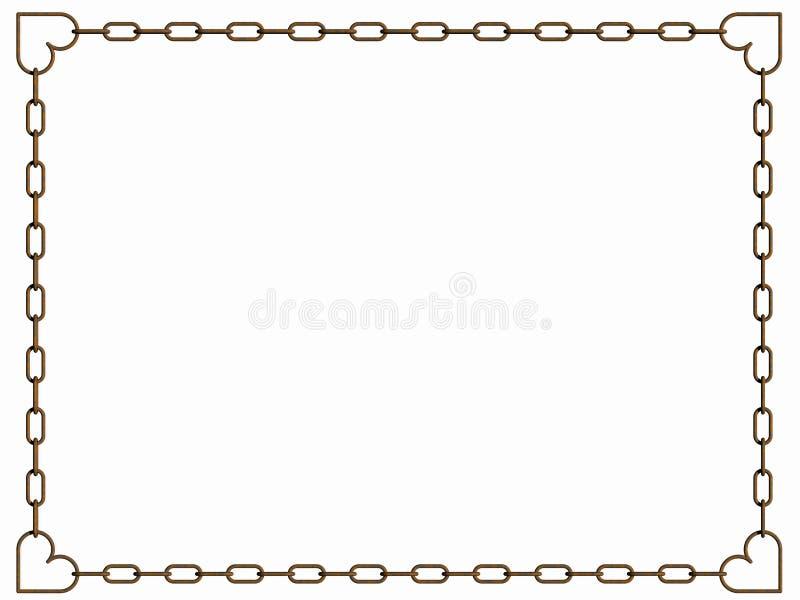Blocco per grafici dei biglietti di S. Valentino royalty illustrazione gratis