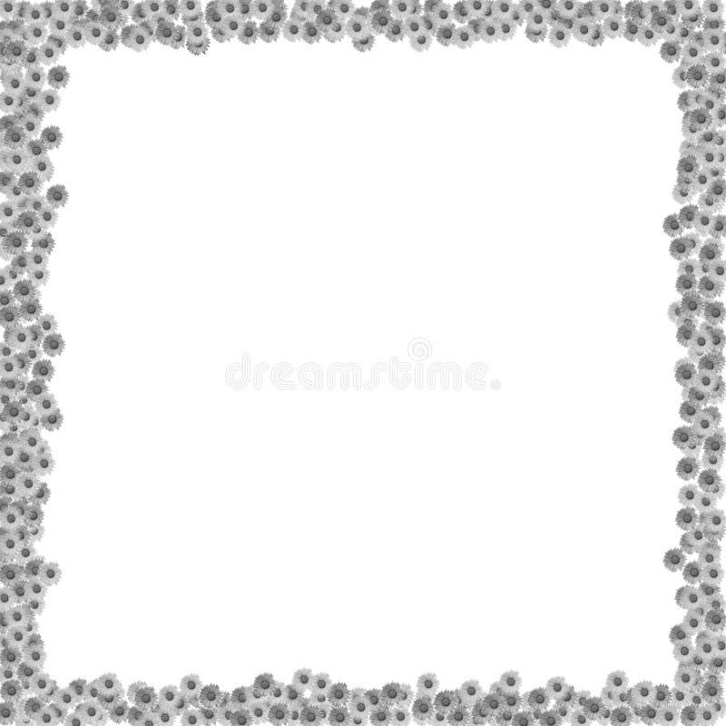 Blocco per grafici dei fiori immagini stock