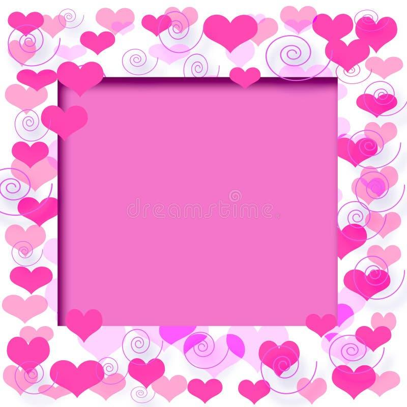 Download Blocco Per Grafici Del Biglietto Di S. Valentino Illustrazione di Stock - Illustrazione di album, arte: 3883221