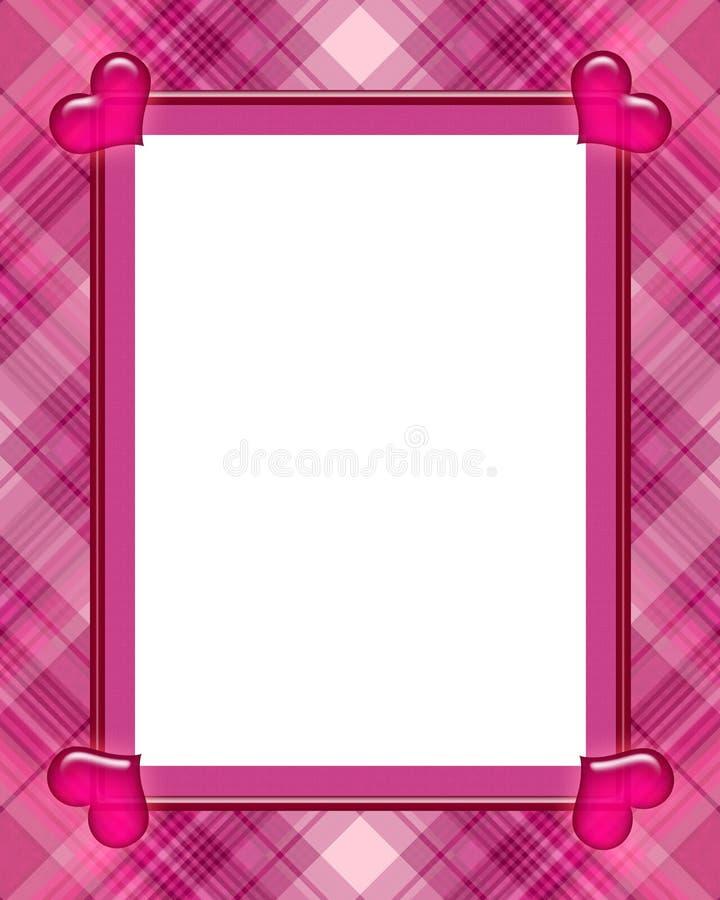 Blocco per grafici del biglietto di S. Valentino illustrazione vettoriale