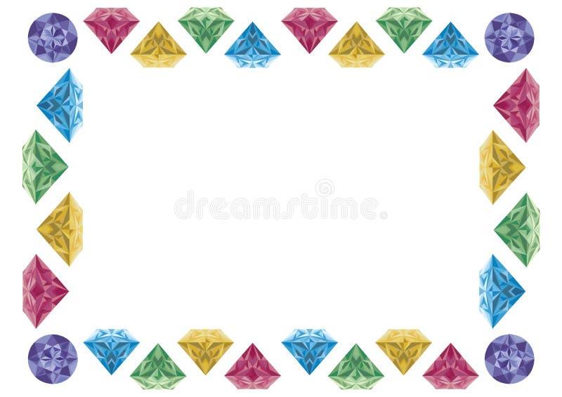 Blocco per grafici del diamante royalty illustrazione gratis