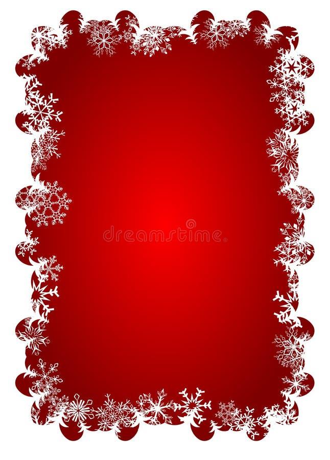 Blocco per grafici del fiocco di neve illustrazione vettoriale