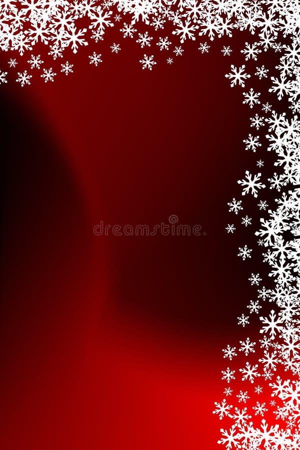 Blocco per grafici del fiocco di neve illustrazione di stock