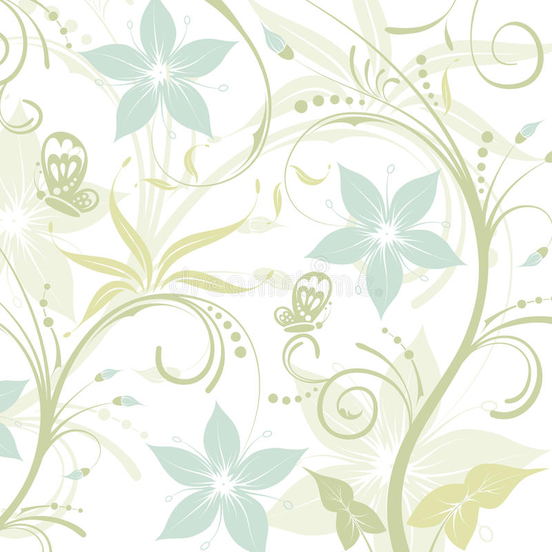 Blocco per grafici del fiore royalty illustrazione gratis
