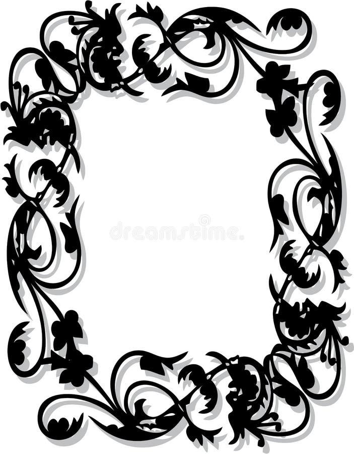 Blocco per grafici del fiore illustrazione di stock