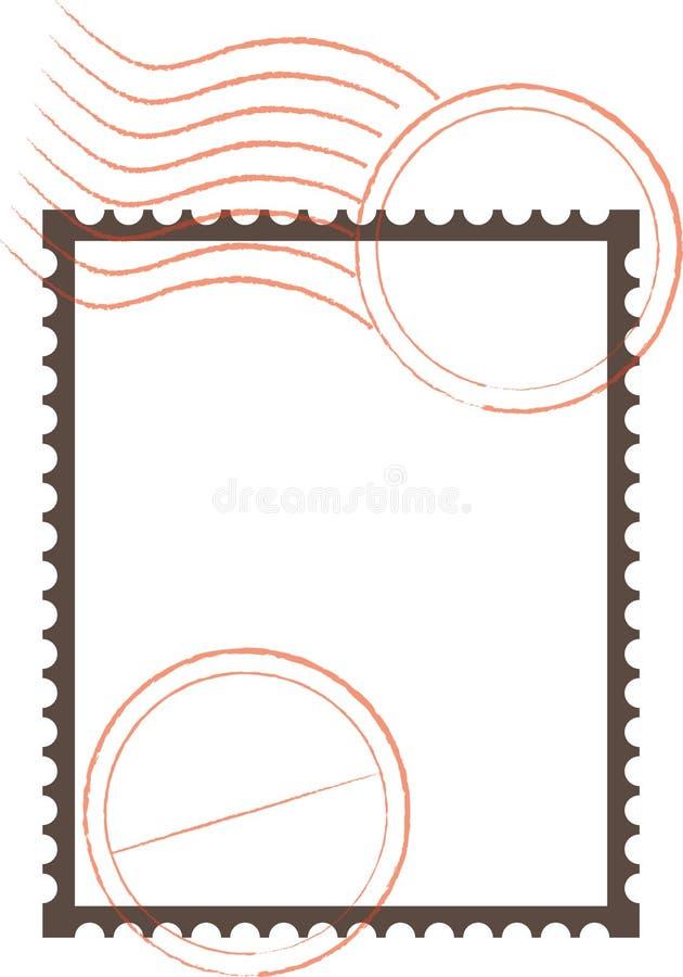 Blocco per grafici del francobollo immagine stock libera da diritti