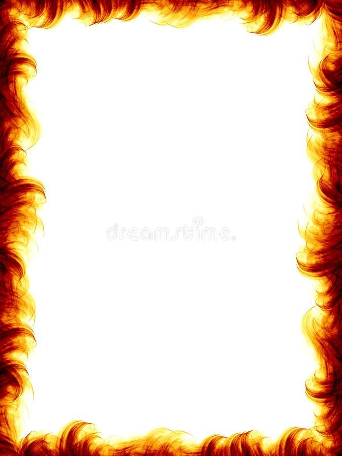 Blocco per grafici del fuoco illustrazione di stock