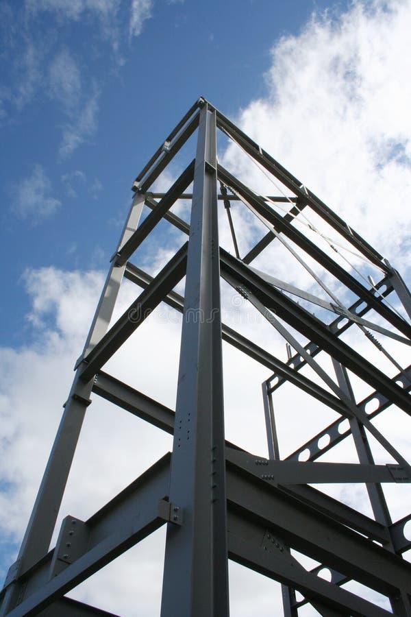 Blocco per grafici del metallo di nuova costruzione immagini stock libere da diritti