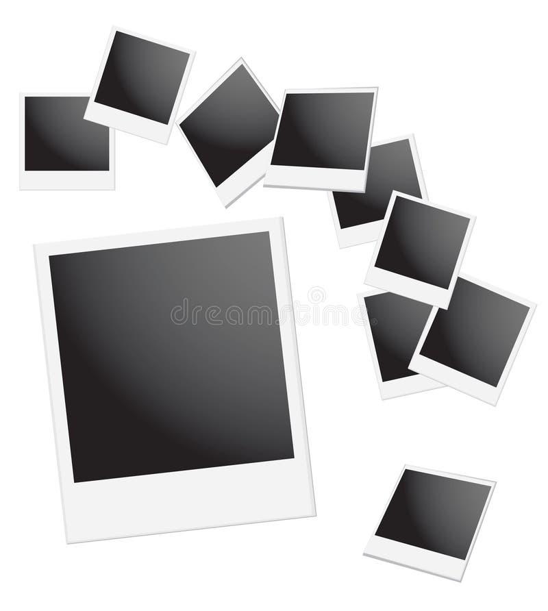 Blocco per grafici del Polaroid royalty illustrazione gratis
