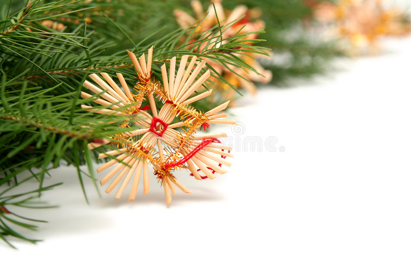 Blocco per grafici dell'albero di Natale fotografia stock