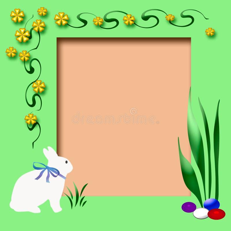 Blocco per grafici dell'album di Pasqua illustrazione vettoriale