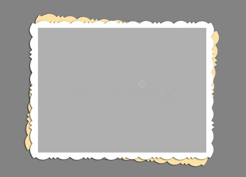 Blocco per grafici dell'annata immagine stock