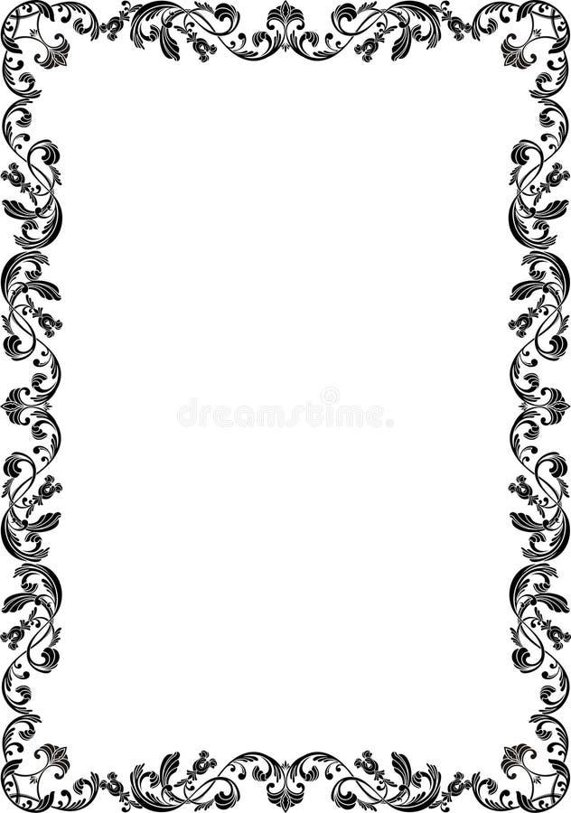 Blocco per grafici dell'ornamento illustrazione di stock