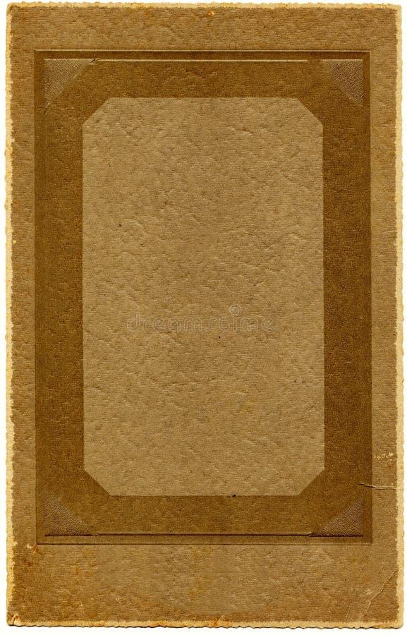 Blocco per grafici della foto degli anni 20 dell'annata immagini stock