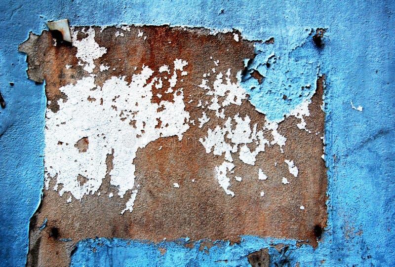 Blocco per grafici della parete di Grunge fotografia stock libera da diritti