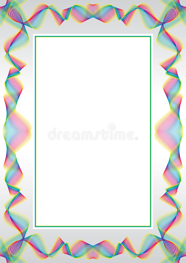 Blocco per grafici della rabescatura illustrazione vettoriale