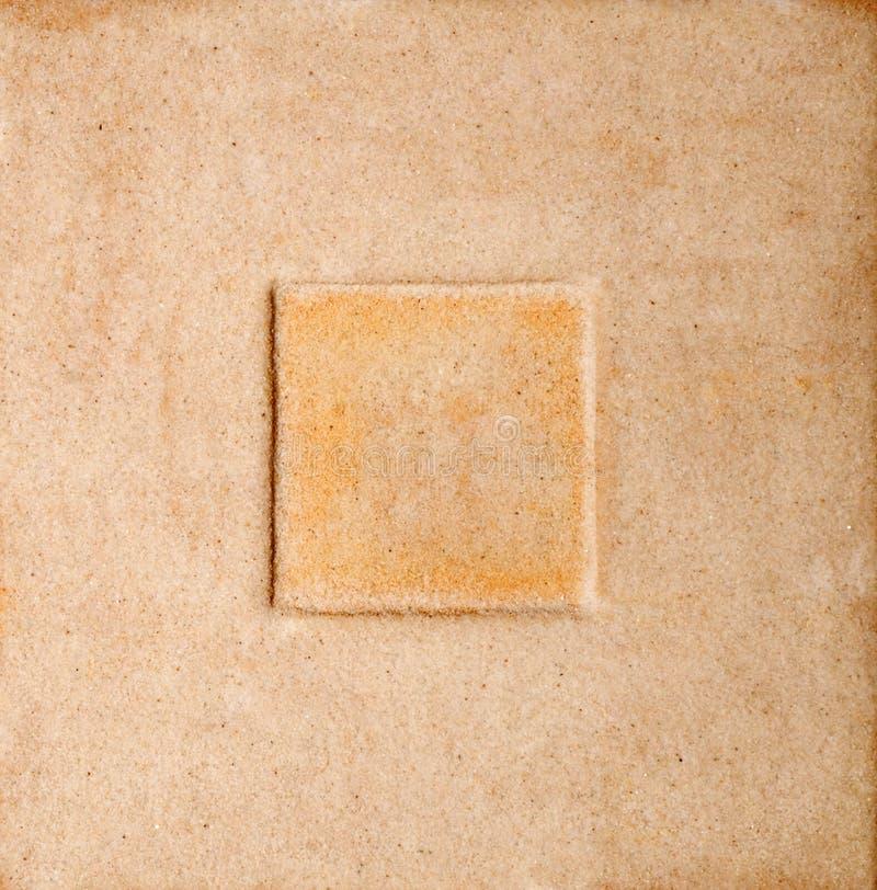 Blocco per grafici della sabbia fotografia stock