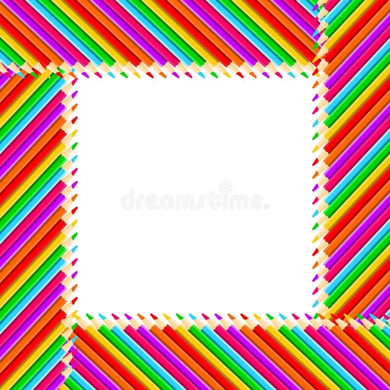 Blocco per grafici delle matite illustrazione vettoriale
