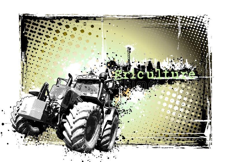 Blocco per grafici di agricoltura illustrazione di stock