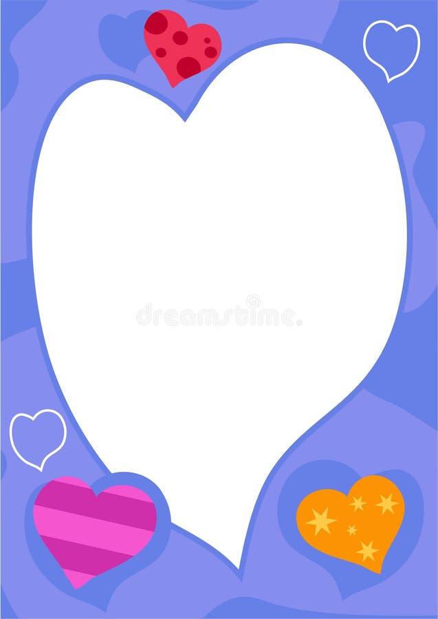 Blocco per grafici di amore royalty illustrazione gratis