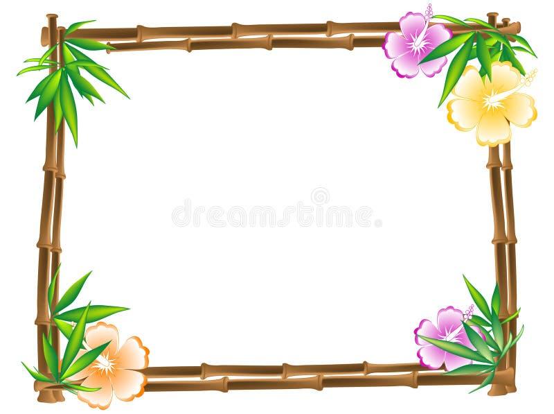 Blocco per grafici di bambù illustrazione vettoriale