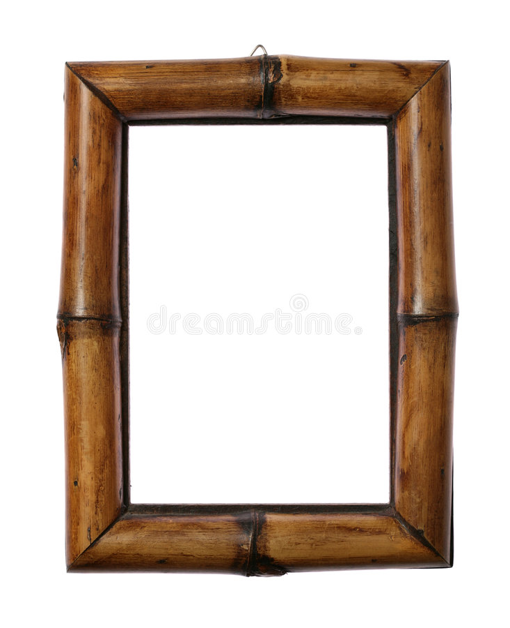Blocco per grafici di bambù immagine stock