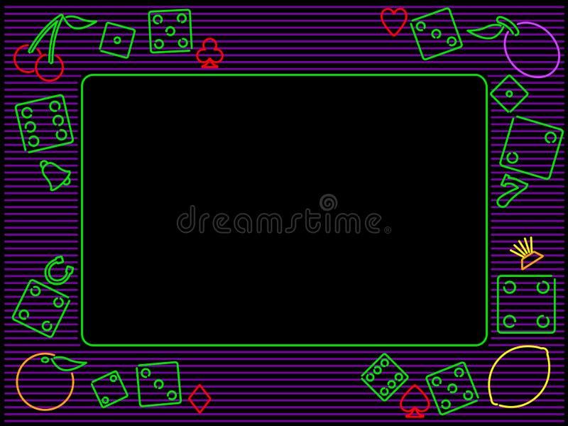 Blocco per grafici di gioco orizzontale illustrazione vettoriale