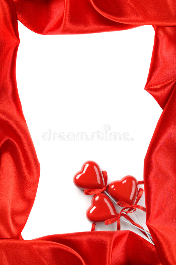 Blocco per grafici di giorno dei biglietti di S. Valentino fotografia stock libera da diritti