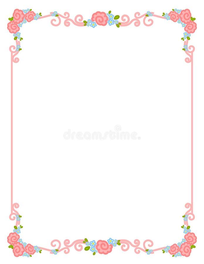 Blocco per grafici di giorno del `s del biglietto di S. Valentino illustrazione vettoriale