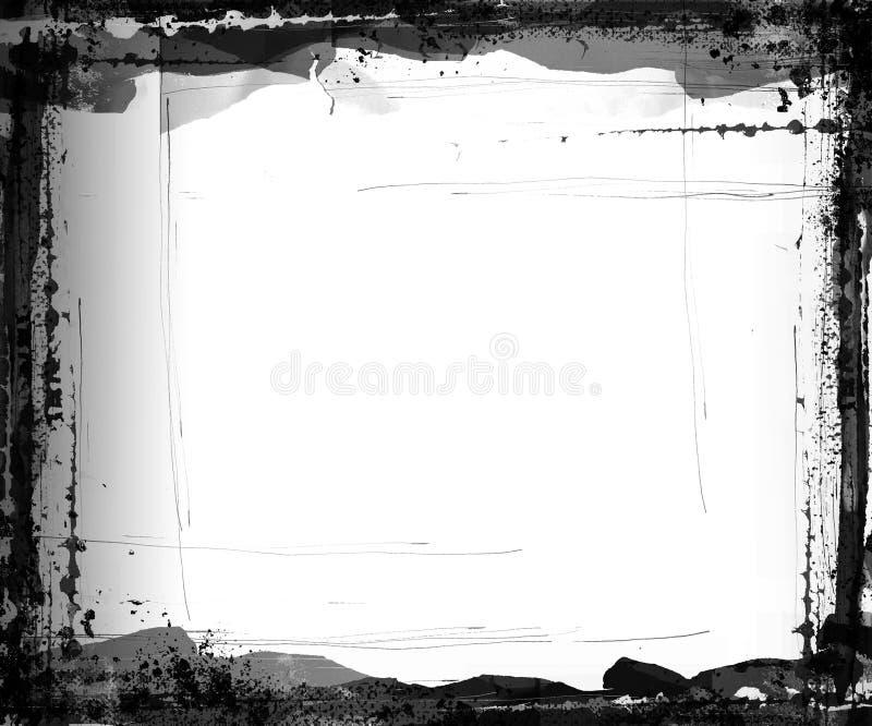 Blocco per grafici di Grunge illustrazione vettoriale