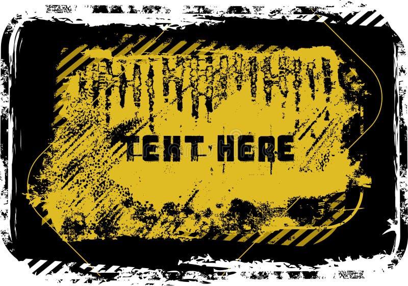 Download Blocco Per Grafici Di Grunge Illustrazione Vettoriale - Illustrazione di illustrazione, vettore: 7305068