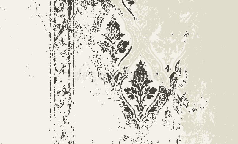 Blocco per grafici di Grunge e serie del bordo illustrazione vettoriale