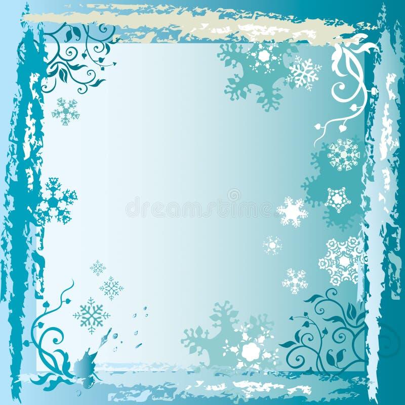 Blocco per grafici di inverno illustrazione vettoriale