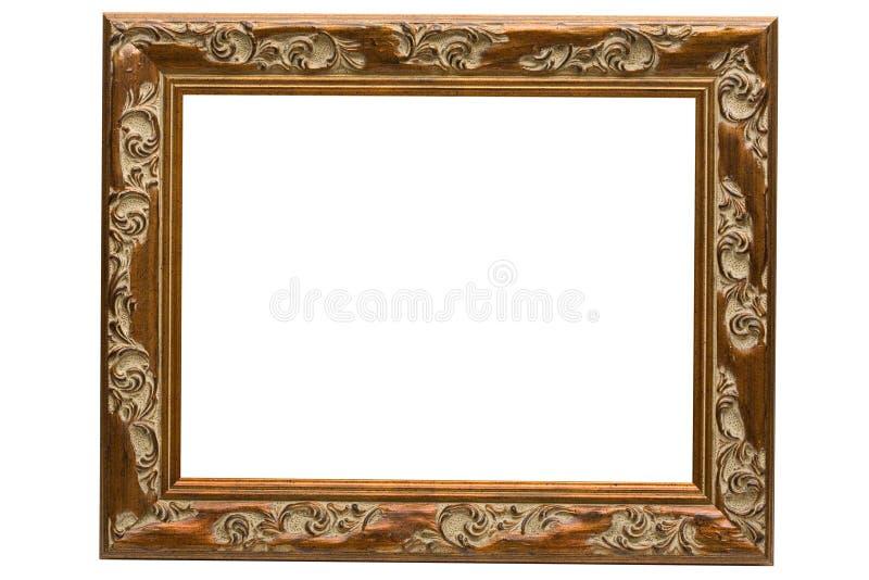 Blocco per grafici di legno antico fotografia stock libera da diritti