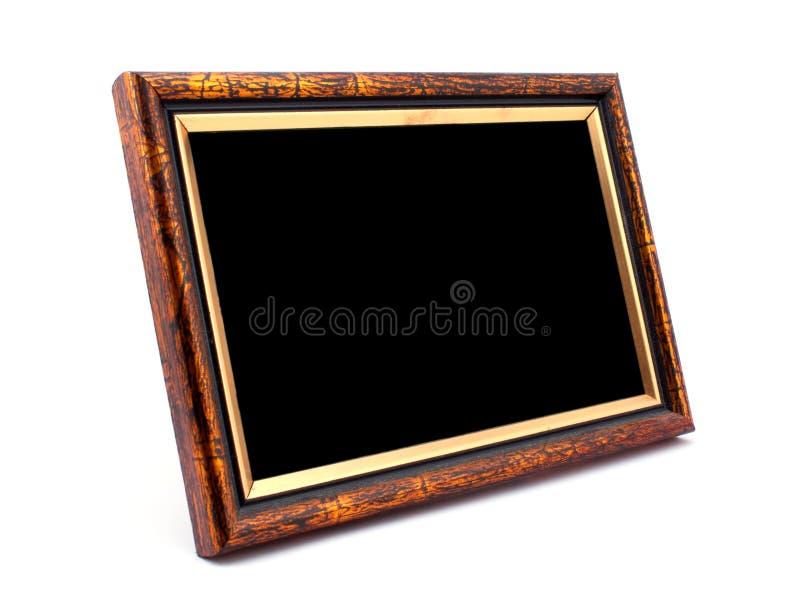 Blocco per grafici di legno della foto immagine stock