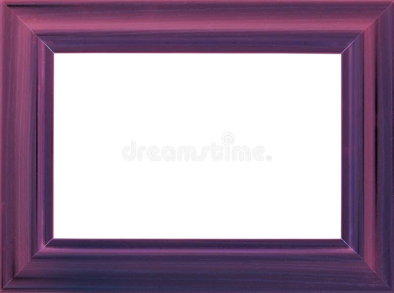 Blocco per grafici di legno viola della foto fotografia stock