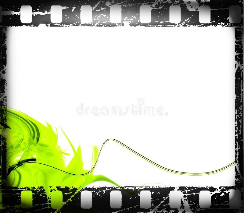 Blocco per grafici di pellicola illustrazione di stock