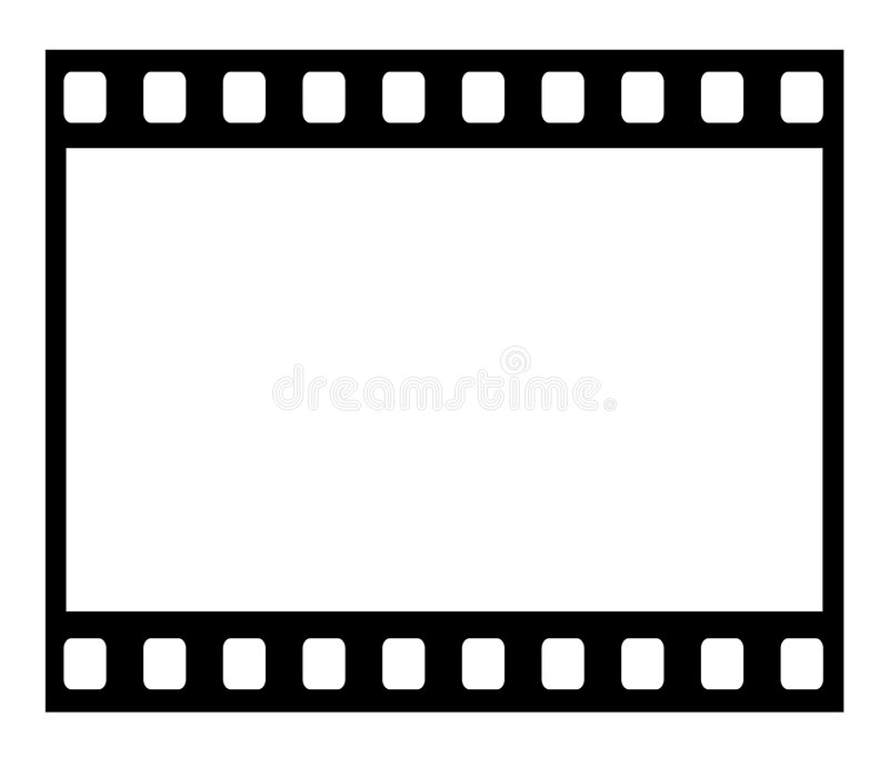 Blocco per grafici di pellicola immagine stock